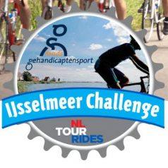 Fietsen over de Afsluitdijk? Tijdens de IJsselmeer Challenge kan het!