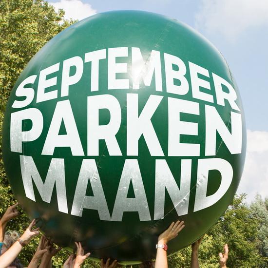 September is parkenmaand in Rotterdam