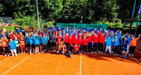 NK G-tennis groot feest voor G-tennissers T.V. Alexanderstad