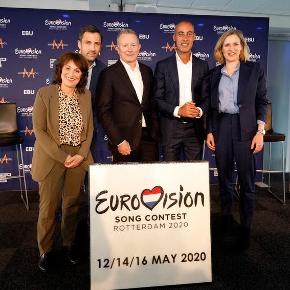 Rotterdam gaststad voor Eurovisie Songfestival 2020