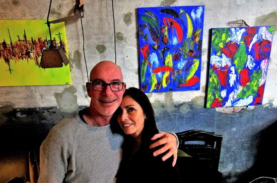 Teresa en Eduard in De Bakkerswinkel