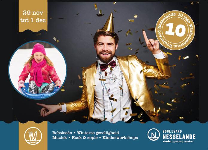 Winkelcentrum Boulevard Nesselande is 10 jaar!