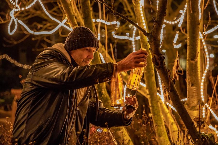 20 december: Lichtjesavond in de Botanische Tuin Kralingen