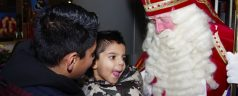 Kleinkind van Sinterklaas