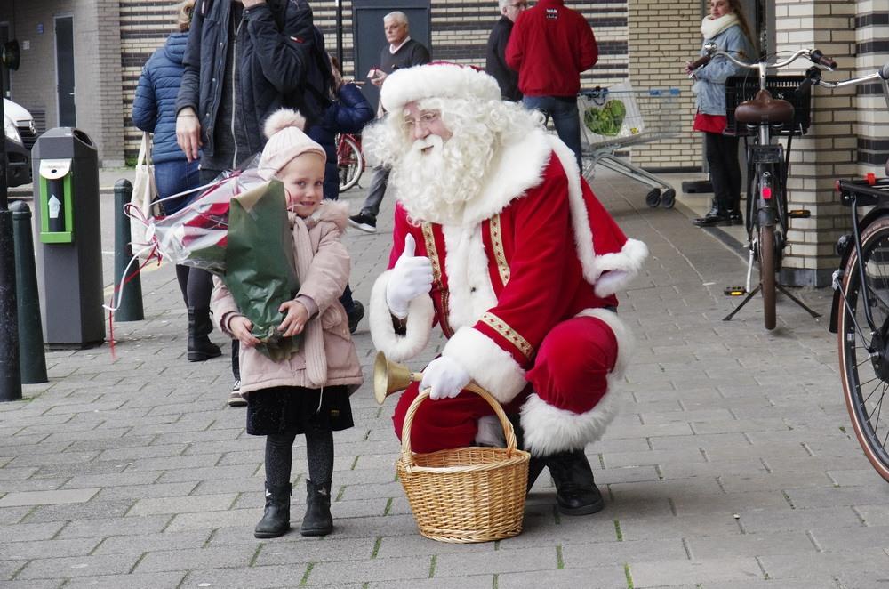 Kerst in Winkelcentrum Prinsenland