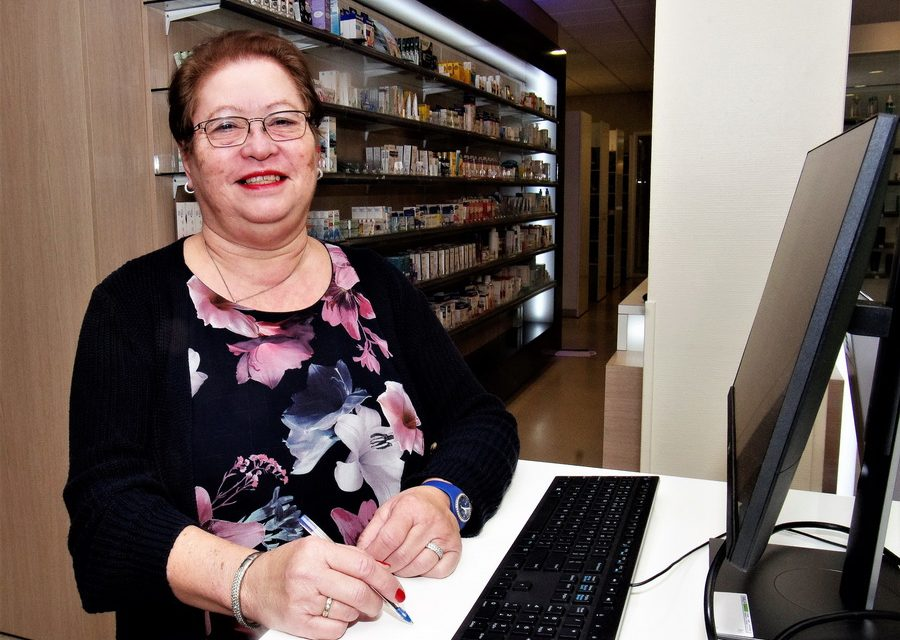 45 jaar apothekersassistente