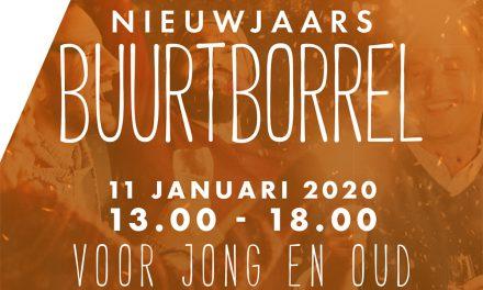 Nieuwjaars Buurtborrel Boulevard Kralingen op 11 januari