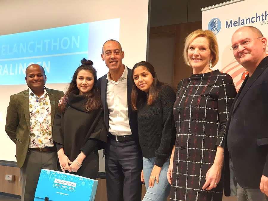 'Melanchthon Kralingen is een voorbeeld voor andere vmbo-scholen'
