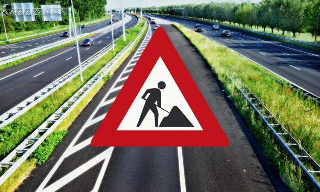 Hoofdrijbaan A16 zondagavond dicht vanwege spoedreparatie