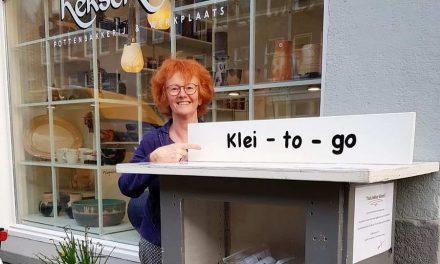 Klei-to-go bij Pottenbakkerij Heksenvuur in Crooswijk