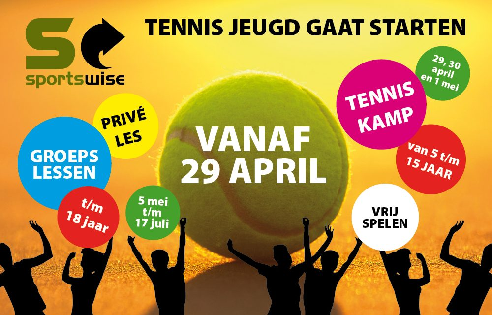 Jeugd kan weer tennissen op Tennispark Kralingen