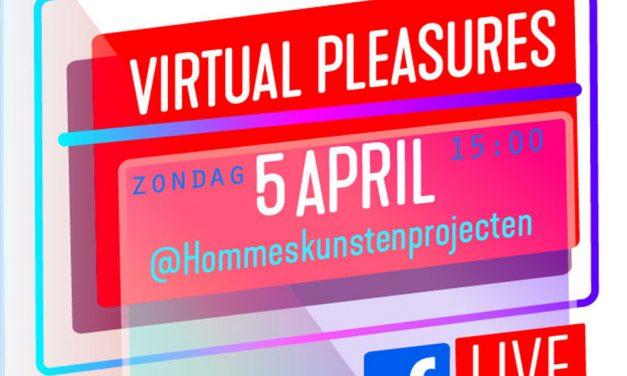 Opening van de virtuele tentoonstellingVIRTUAL PLEASURES