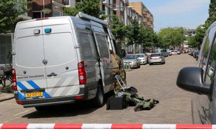Frits Ruysstraat afgesloten voor onderzoek mogelijk explosief