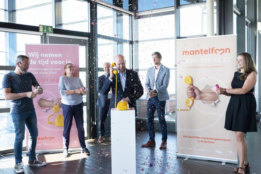 Eerste 24-uurs steunpunt voor mantelzorgers van start in Rotterdam