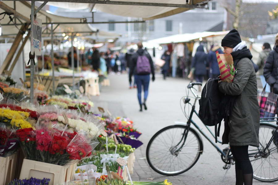 Rotterdamse markten weer helemaal open
