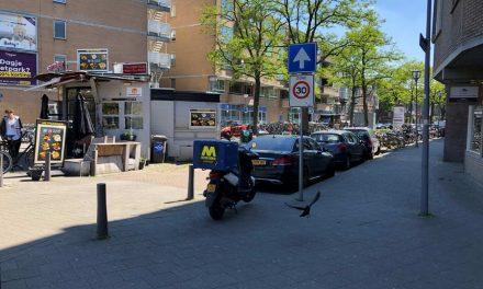 Vrouw overvalt supermarkt Voorschoterlaan