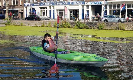 Sportief genieten van het water van de Binnenrotte