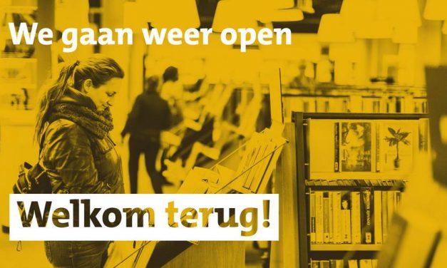 Bibliotheek Rotterdam weer open. welkom terug!