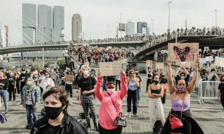 Black Lives Matter demonstratie in Rotterdam