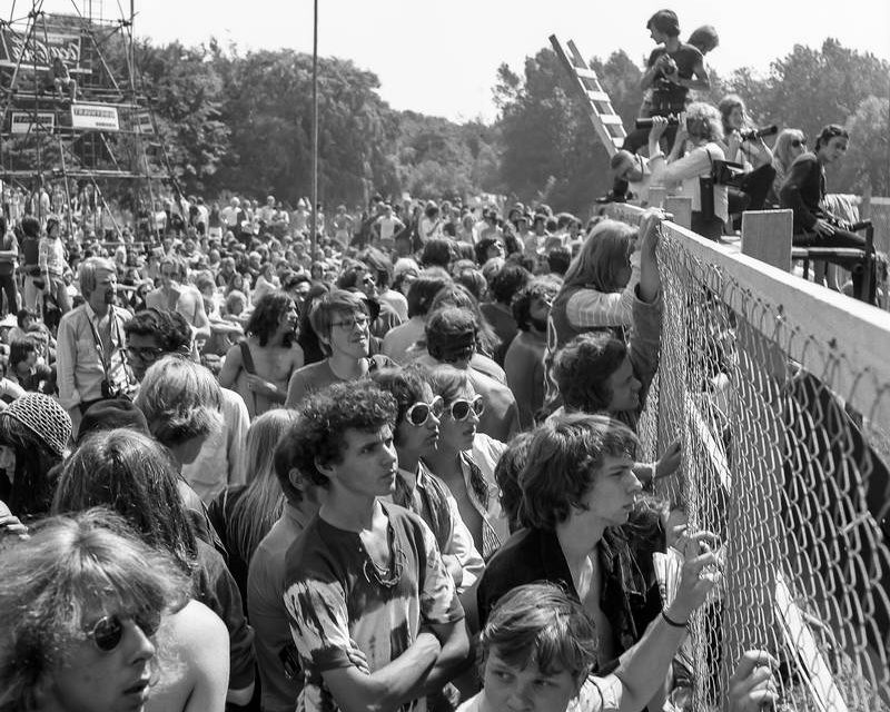 Finissage expo Holland Popfestival 50 jaar