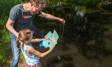 Meet de waterkwaliteit in de buurt voor onderzoek