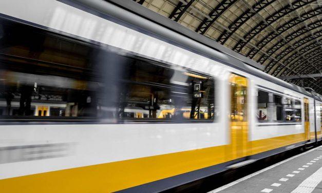 Vrouwen slaan en bespugen treinconducteur op station Alexander