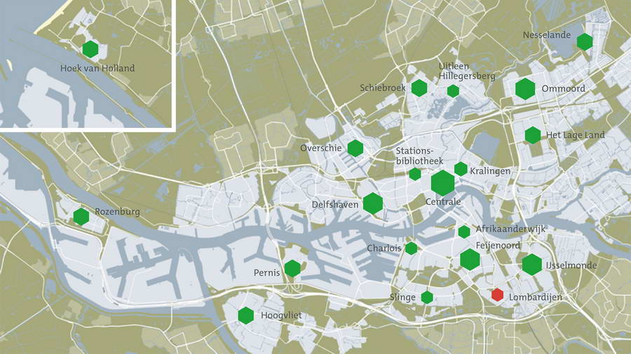 Veel faciliteiten van Bibliotheek Rotterdam weer beschikbaar binnen de 1,5 meter afstand
