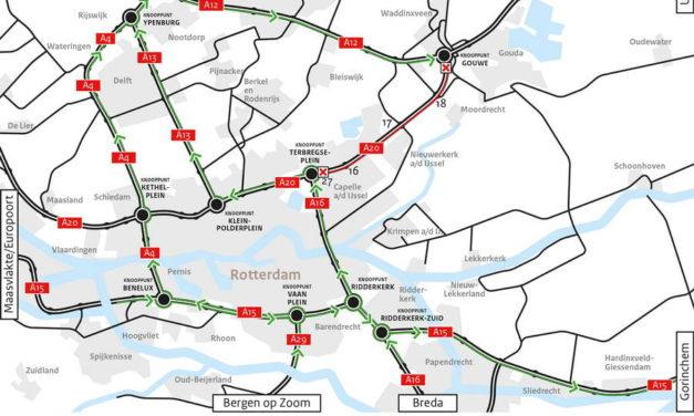 Rijkswaterstaat verwacht dit weekeinde drukte op de wegen in Zuid Holland
