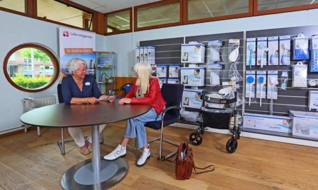 Nieuwe zorgwinkel Lelie zorggroep vanwege tijdelijke sluiting zorgwinkel Pniel