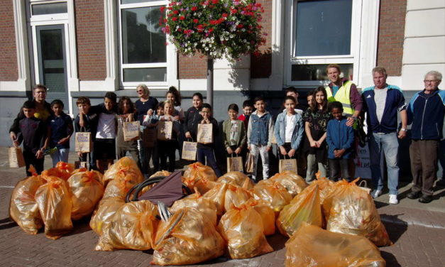 World Cleanup Day op Koeweide