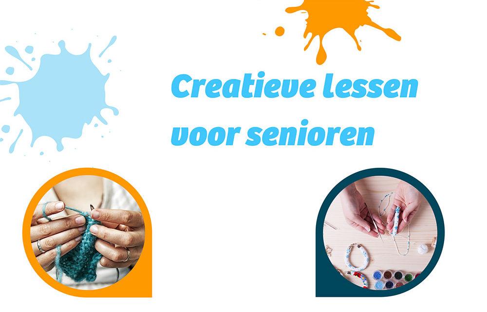 Creatieve lessen voor senioren starten op 4 november