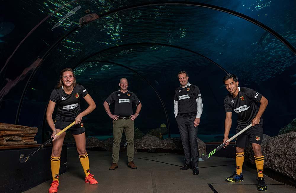Hockey Vereniging Victoria in actie voor Diergaarde Blijdorp