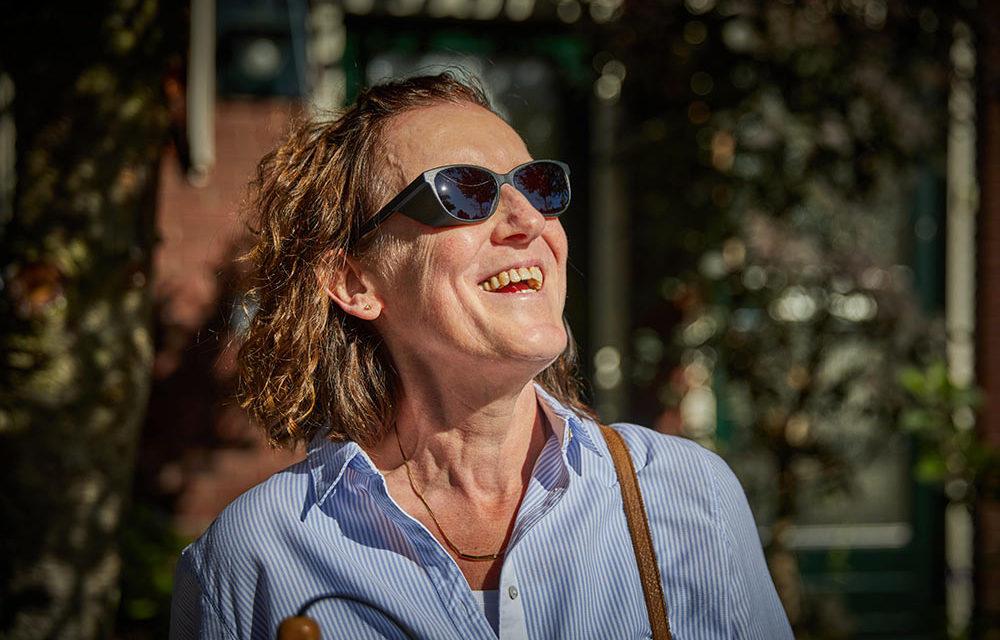Kappenbril tegen extreme lichtgevoeligheid