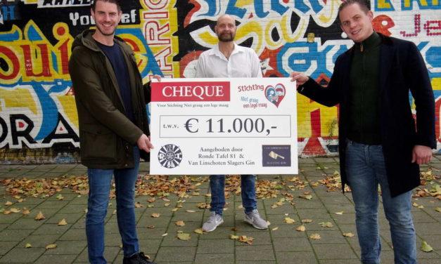GERSE ROTTERDAMSE COCKTAIL LEVERT € 11.000,- OP VOOR HET GOEDE DOEL
