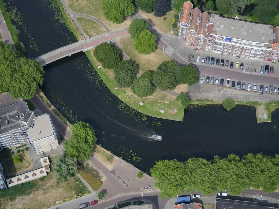 Wandelen en fietsen langs rivieren in Rotterdam populairder