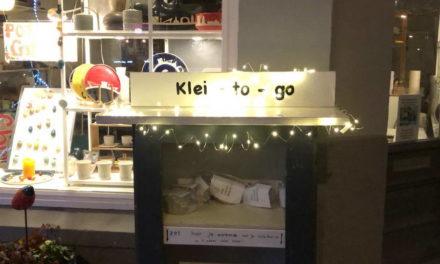 Weer 'Klei-to-go' bij pottenbakkerij Heksenvuur