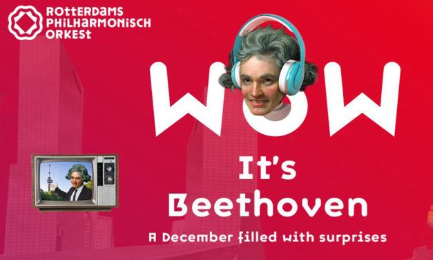 Musici Rotterdams Philharmonisch brengen deze maand Beethoven naar de huiskamer