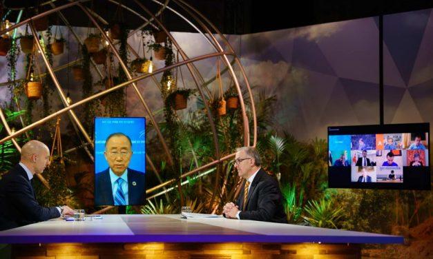 Burgemeester Aboutaleb presenteert plan 1000 klimaatbestendige steden aan wereldleiders