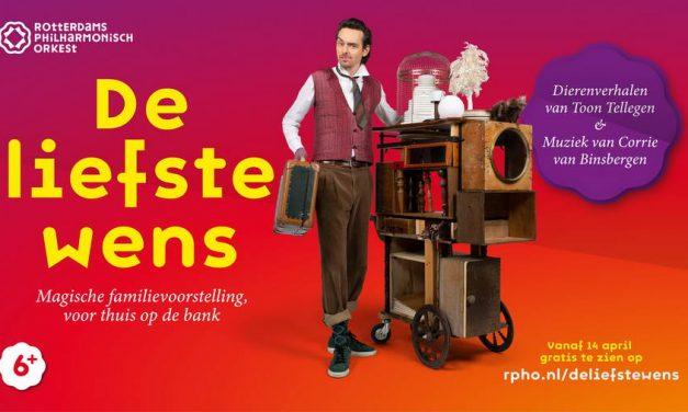 Een cadeau voor alle kinderen in Nederland: gratis voorstelling tijdens de Kindermuziekweek