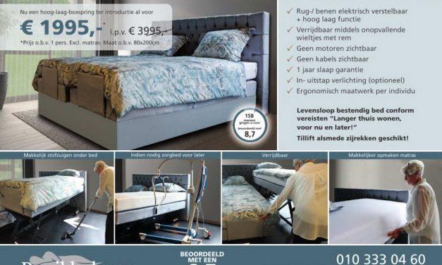 HET NIEUWSTE TYPE COMFORT BOXSPRING VAN DE BeNeLUX