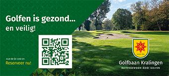 Golfbaan Kralingen met QR code