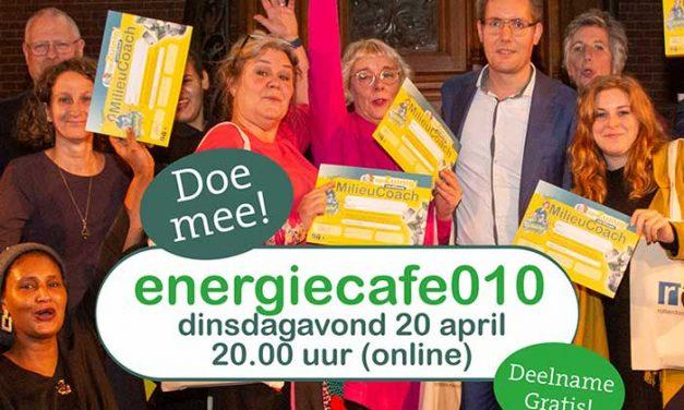 Energiecafe010 met energieke gasten
