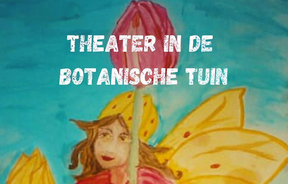 Fantasierijke theaterdag in de botanische tuin voor kinderen