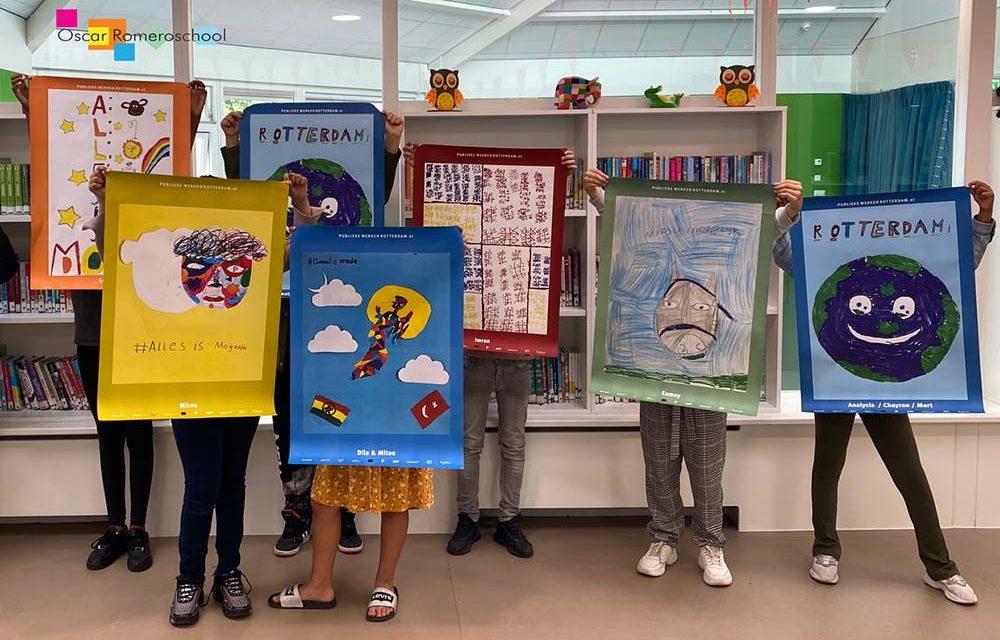 Publieke Werken exposeert tekeningen van de Oscar Romeroschool