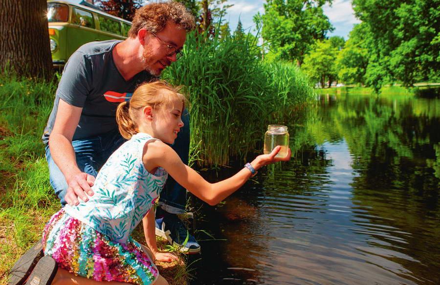 Waterwerken: Help mee en meet de kwaliteit van water in jouw buurt