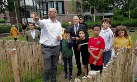 Opening speeltuin in Park de Nieuwe Plantage