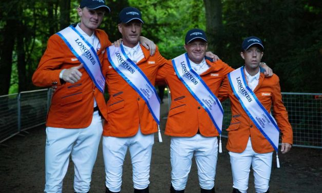 Springruiters TeamNL pakken winst in Longines FEI Jumping Nations Cup