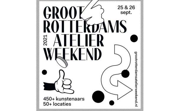 Tweede editie van het Groot Rotterdams Atelier Weekend