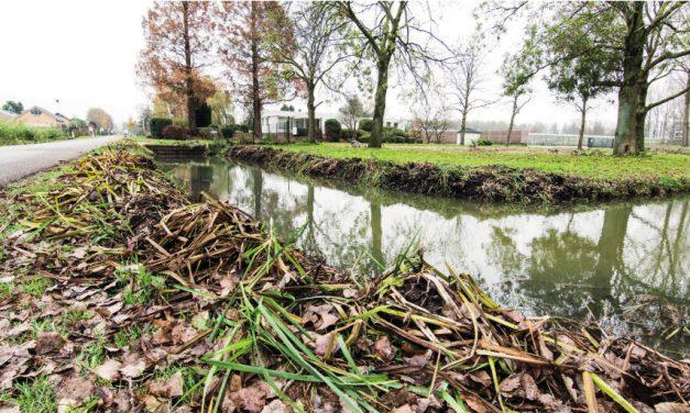 Waterwerken controleren de sloten vanaf half oktober