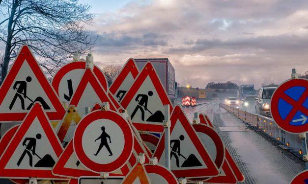 Afsluiting A20 tussen Terbregseplein en Rotterdam-Centrum